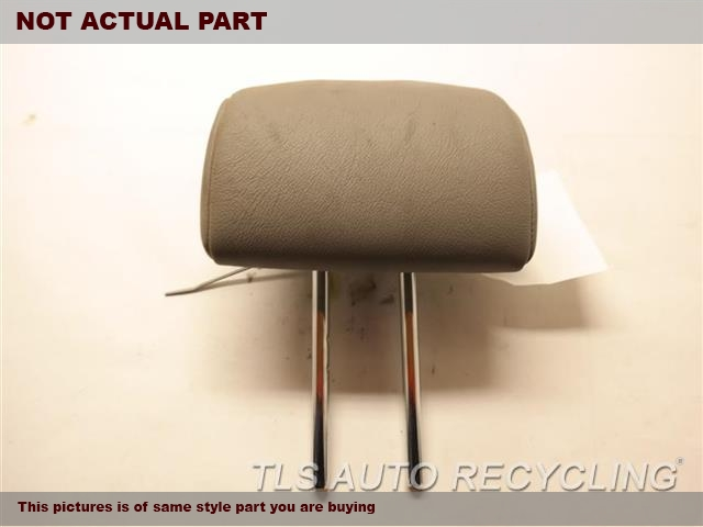 2011 Toyota Highlander Headrest. GRAY REAR HEADREST