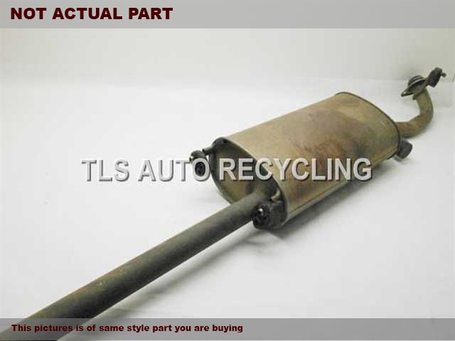 2012 Toyota Highlander Exhaust Pipe. MINOR DINGSCENTER EXHAUST PIPE 17420-0P220