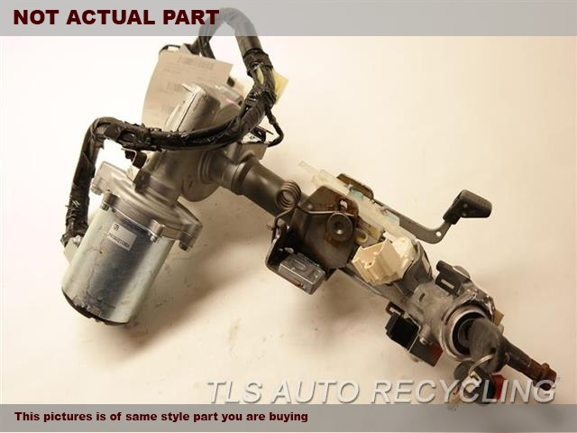 2011 Toyota Highlander Steering Column. FLOOR SHIFT, VIN A (5TH DIGIT)