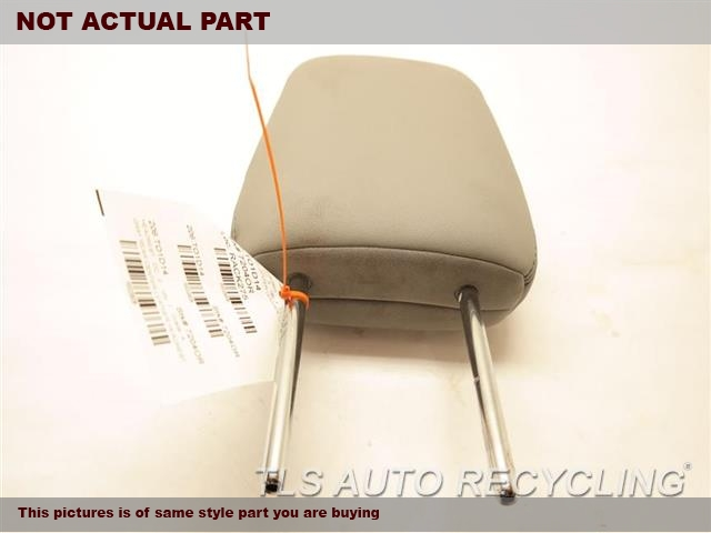 TAN FRONT LEATHER HEADREST