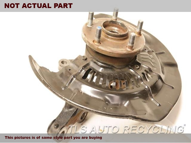 2014 Toyota Highlander Spindle Knuckle, Fr  RH