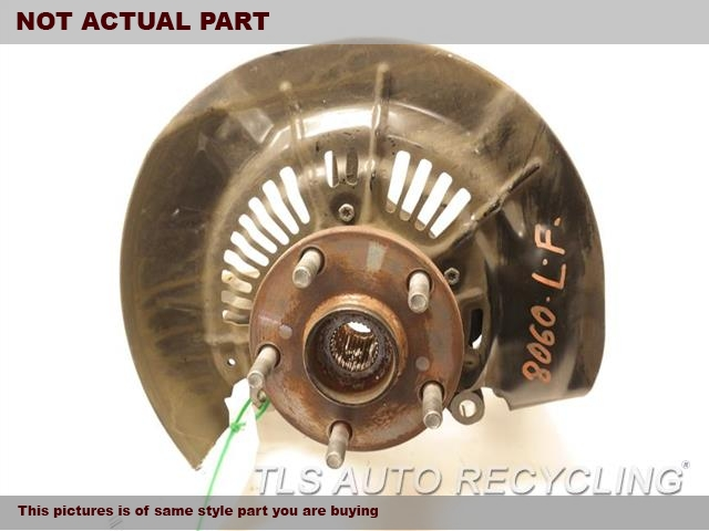 2014 Toyota Highlander Spindle Knuckle, Fr. 43212-OE010 43502-OE010DRIVERS SPINDLE KNUCKLE W/HUB