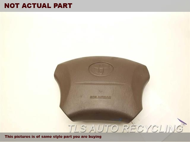1999 Toyota Land Cruiser Air Bag. 45130-60180-E0BROWN STEERING WHEEL AIR BAG