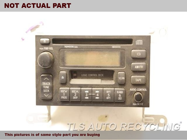 1998 Toyota Land Cruiser Radio Audio / Amp. 4.7L 2UZFE ENGINE,RECEIVER