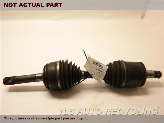 2004 Toyota Land Cruiser Axle Shaft. FRONT AXLE SHAFT 43430-60040