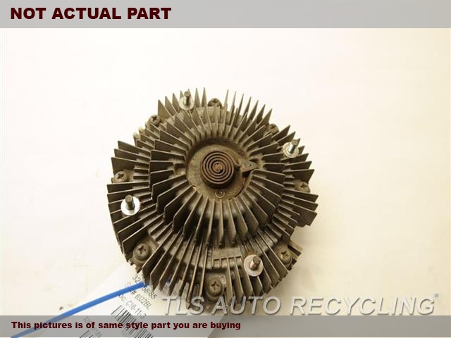1999 Toyota Land Cruiser Fan Clutch. FAN CLUTCH 16210-50051