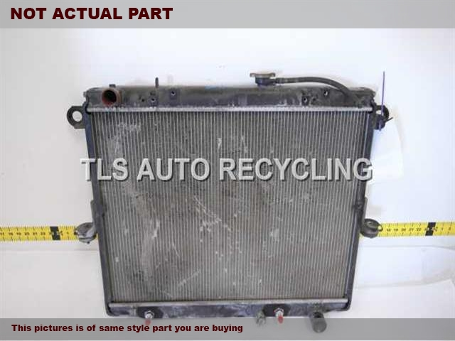 1998 Toyota Land Cruiser Radiator. 4.7L (2UZFE ENGINE, 8 CYLINDER)