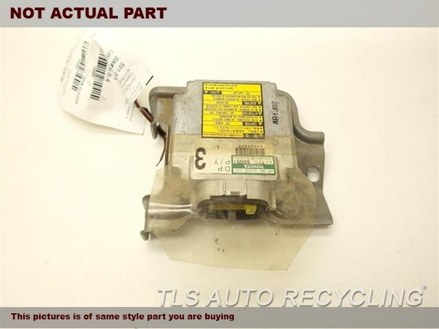 1999 Toyota Land Cruiser Chassis Cont Mod. 89170-60051 AIR BAG COMPUTER