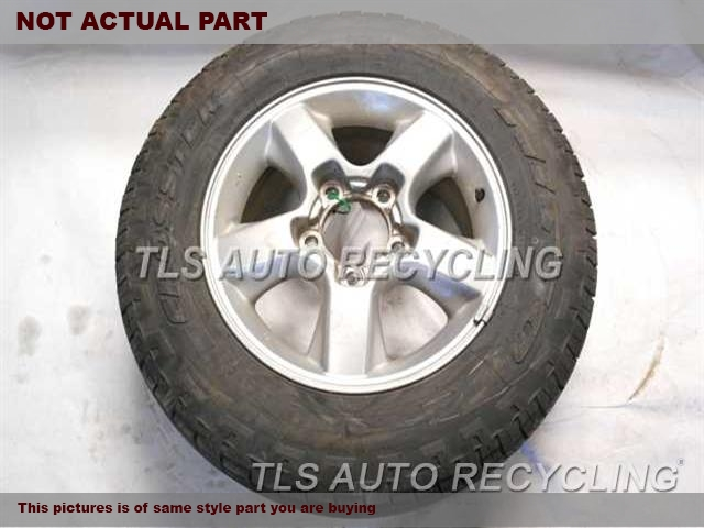 2004 Toyota Land Cruiser Wheel. 18X8 ALLOY WHEEL 5 SPOKE