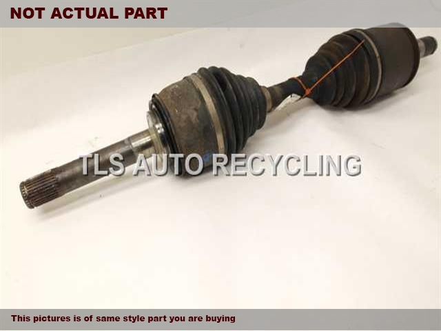 2001 Lexus LX 470 Axle Shaft. FRONT AXLE, OUTER ASSEMBLY