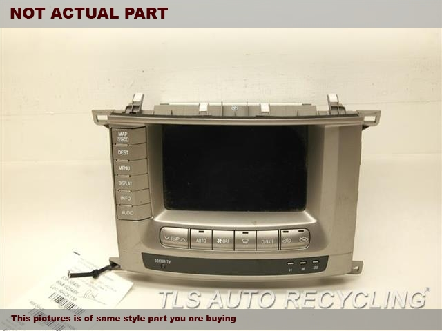 2004 Toyota Land Cruiser Radio Audio / Amp. 86111-60250NAVIGATION DISPLAY SCREEN