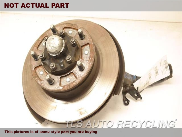 1998 Toyota Land Cruiser Spindle Knuckle, Fr. LH,STEERING KNUCKLE, (WITH ABS)