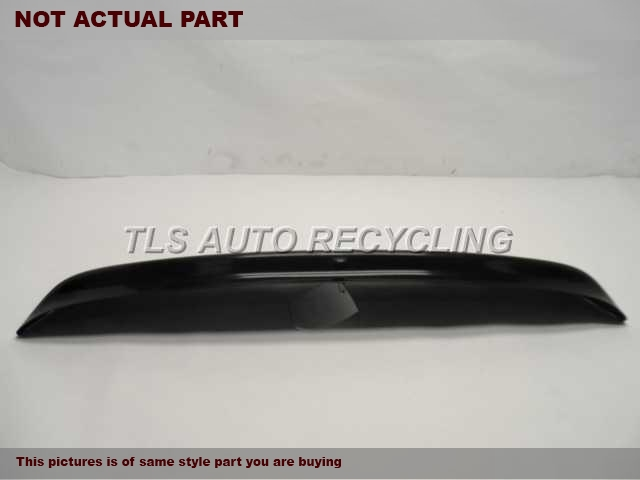 2005 Toyota Matrix Spoiler, Rear. WHITE SPOILER 67021-02040