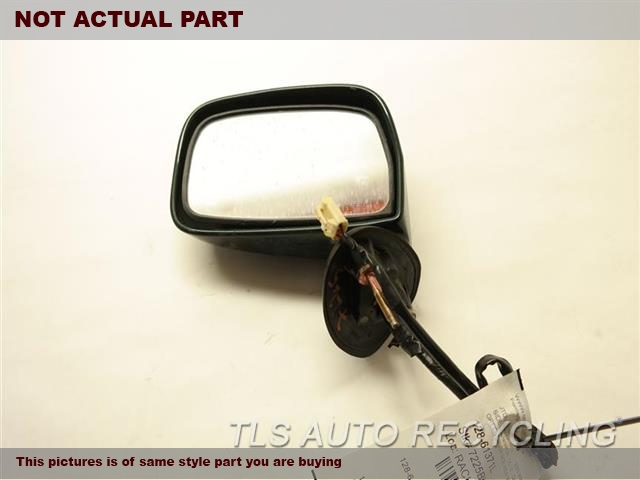 SILVER DRIVERS SIDE VIEW MIRROR