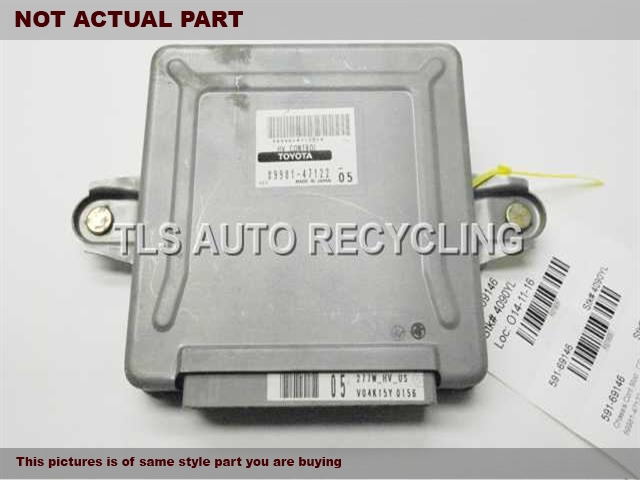 2005 Toyota Prius Chassis Cont Mod. 89981-47123 HYBRID COMPUTER