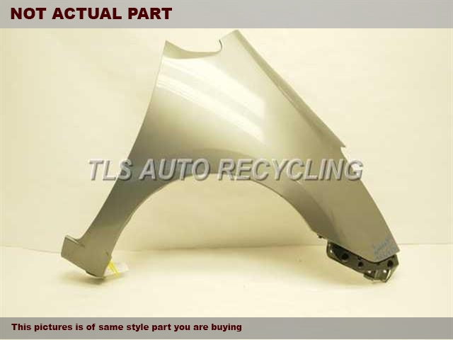 2006 Toyota Prius Fender. SCRATCH ON FRONT END & SMALL DENT BY LEGBLACK PASSENGER FENDER