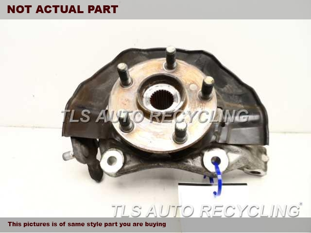 2005 Toyota Prius Spindle Knuckle, Fr. 43201-47010 43510-47010PASSENGER FRONT KNUCKLE W/HUB
