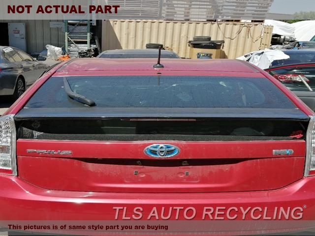 2011 Toyota Prius Deck lid. 000,RED,(WITH WIPER), US MARKET