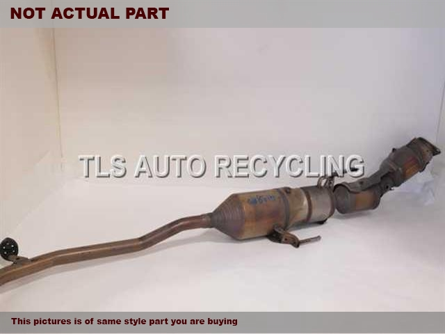 2010 Toyota Prius Exhaust Pipe. FRONT EXHAUST PIPE 17410-21C20