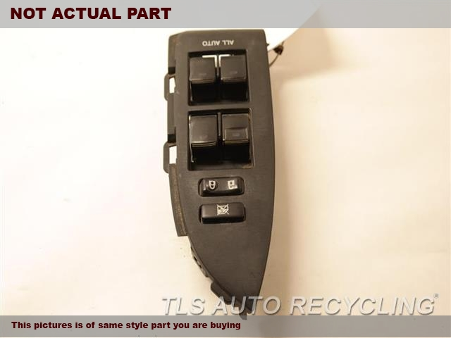2010 Toyota Camry Door Elec Switch. MASTER WINDOW SWITCH 84040-33100