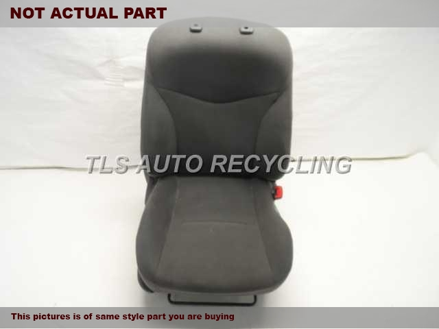 2010 Toyota Prius Seat, Front. RH,GRY,CLO,BUC,(BUCKET), (AIR BAG)