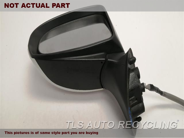 2011 Toyota Prius Side View Mirror. LH,RED,PM,POWER, L.