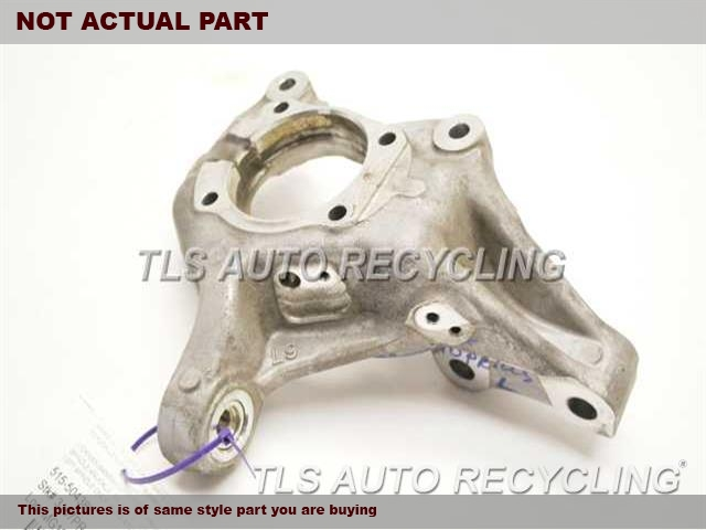 2015 Toyota Prius Spindle Knuckle, Fr  LH,PRIUS VIN DU, 7TH AND 8TH DIGIT