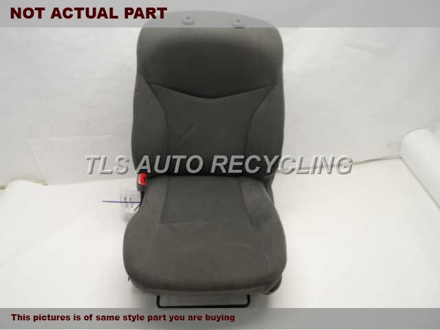 2010 Toyota Prius Seat, Front. 71440-47140 71072-47193 71910-47110GRAY DRIVER FRONT SEAT CLOTH
