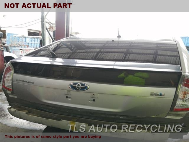 2011 Toyota Prius Deck lid. 000,BLU,(WITH WIPER), US MARKET