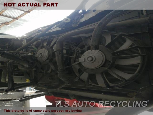 2011 Toyota Prius Rad Cond Fan Assy. FAN ASSEMBLY