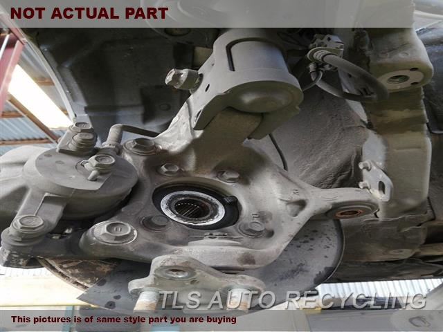 2011 Toyota Prius Spindle Knuckle, Fr. RH