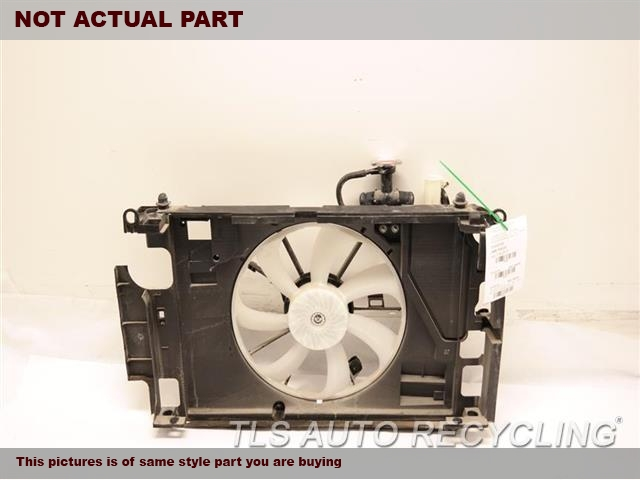 2018 Toyota Prius Rad Cond Fan Assy  RADIATOR FAN ASSEMBLY