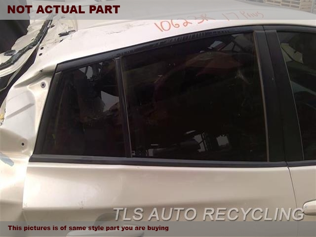 2018 Toyota Prius Door Glass, Rear. RH,PRIUS PRIME (VIN FP, 7TH AND 8TH