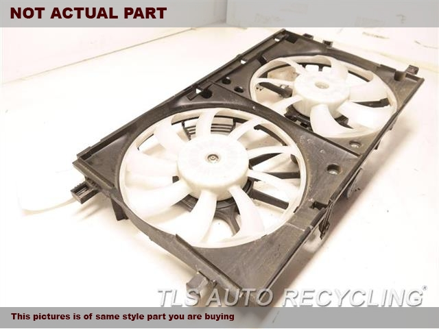 2016 Toyota Prius Rad Cond Fan Assy. FAN ASSEMBLY, PRIUS
