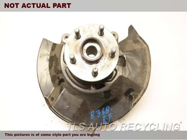 2016 Toyota Prius Spindle Knuckle, Fr. RH