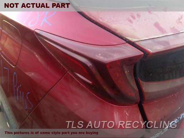 2018 Toyota Prius Tail Lamp. LH,PRIUS PRIME (VIN FP, 7TH AND 8TH