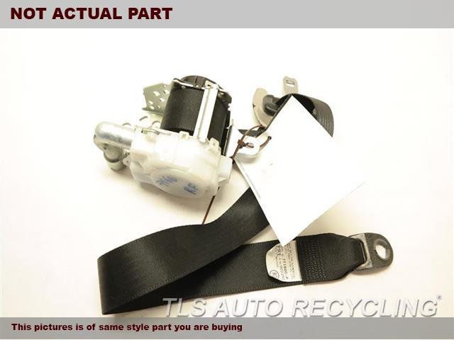 2012 Toyota PRIUS V Seat Belt front. 73210-47090GRAY PASSENGER FRONT SEAT BELT