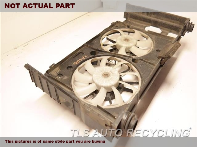 2014 Lexus CT 200H Rad Cond Fan Assy. FAN ASSEMBLY