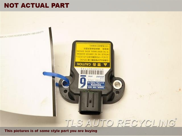 2010 Toyota Prius Chassis Cont Mod. 89183-48030 YAW RATE SENSOR