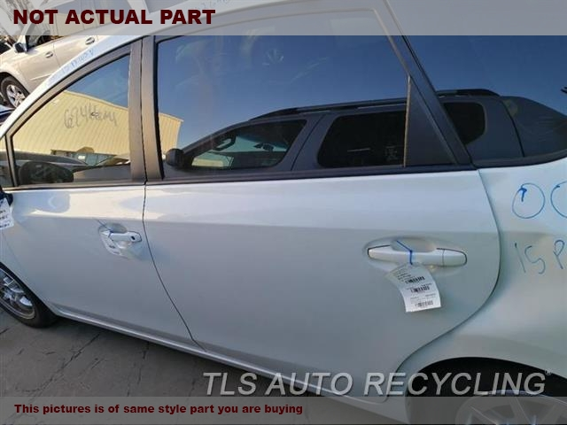 2013 Toyota PRIUS V Door Assembly, Rear side. 000,LH,SLV,PW,PL,(ELECTRIC WINDOWS)