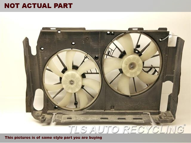 2007 Toyota RAV 4 Rad Cond Fan Assy. 16712-0V010 16361-0V010 16361-0V020 RADIATOR FAN ASSEMBLY 16711-0V030