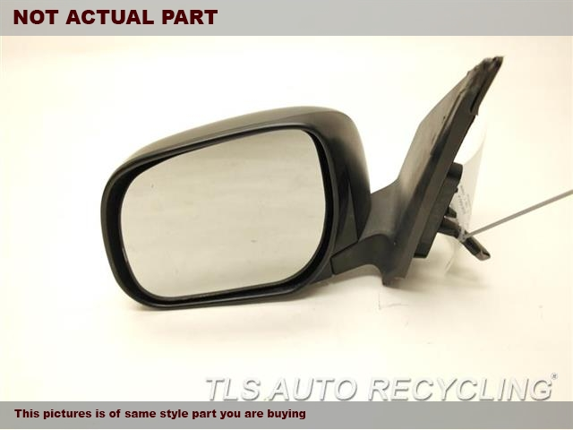 2007 Toyota RAV 4 Side View Mirror. 87940-42810BLACK  DRIVER SIDE VIEW MIRROR