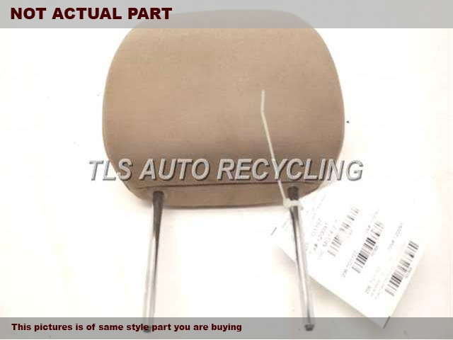 2007 Toyota RAV 4 Headrest. 71960-42010-E0TAN REAR CENTER CLOTH HEADREST
