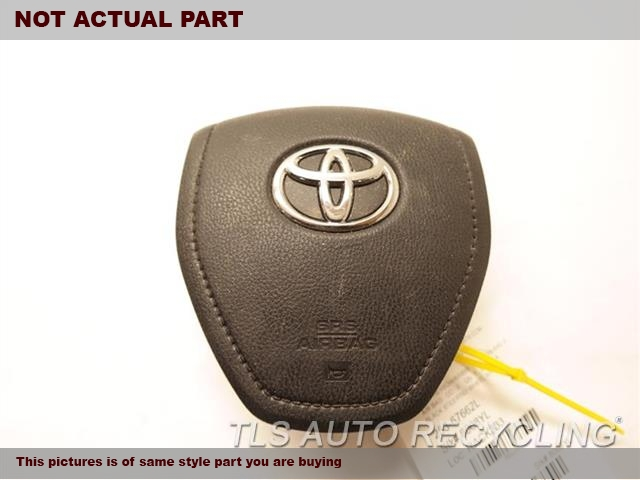 2017 Toyota Rav 4 Air Bag NORTH AMERICA BUILT, DRIVER LH.WHEEL AIR BAG