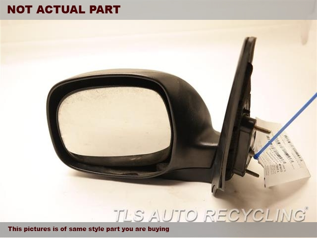 2006 Toyota Sequoia Side View Mirror. LH,RED,PM,POWER, L., W/O HEATED