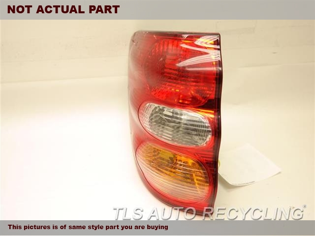 2003 Toyota Sequoia Tail Lamp. DRIVER QUARTER TAIL LAMP 81561-0C020