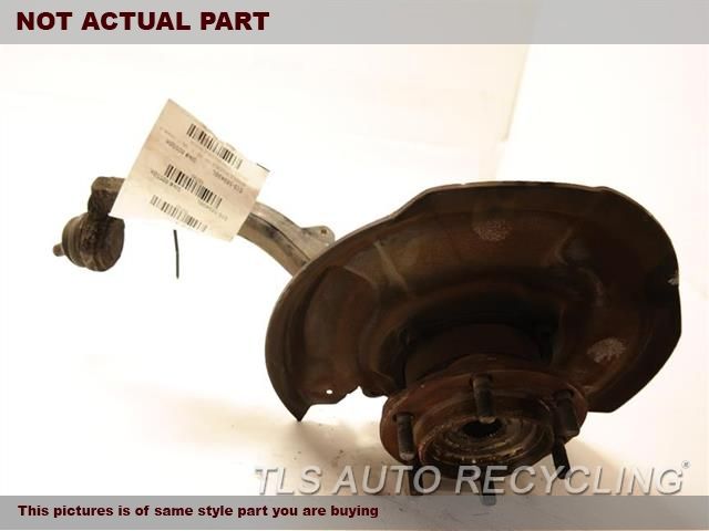 2006 Toyota Sequoia Spindle Knuckle, Fr. LH,4X4