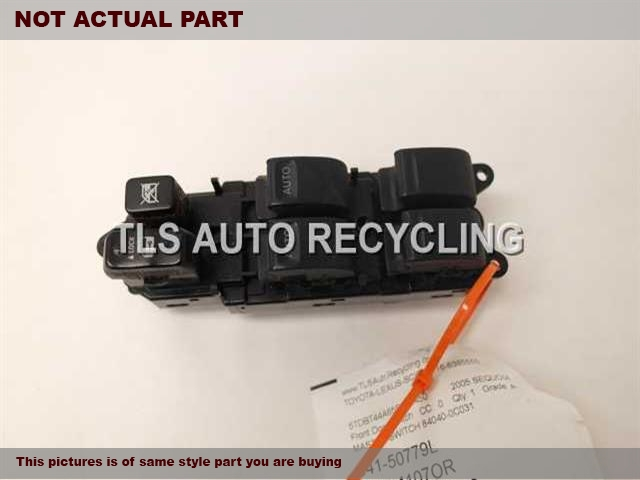 2006 Toyota Sequoia Door Elec Switch. LH,DRIVER``S, (MASTER)