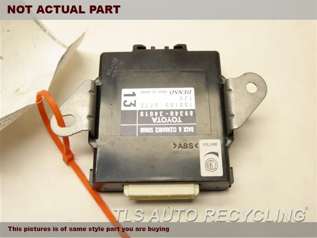 2013 Toyota Tundra Chassis Cont Mod. 89340-34010 PARK ASSIST COMPUTER
