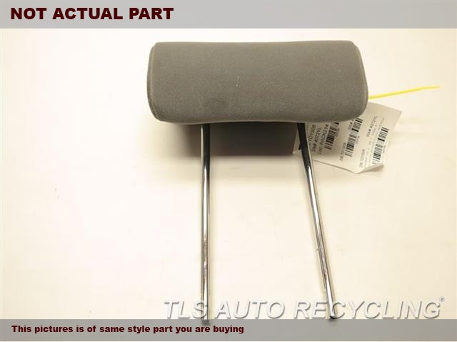 2008 Toyota Sequoia Headrest  GRAY LEATHER HEADREST FRONT&MIDDLE